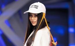 Hoa hậu Trái đất Phương Khánh xuất hiện xinh đẹp, cá tính khi làm vedette