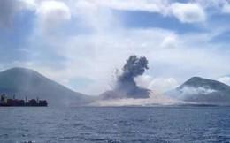 Núi lửa phun trào có thể tạo sóng xung kích lớn như thế nào?