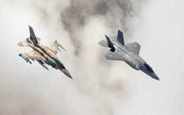"""""""Sát thủ giấu mặt"""" F-35I Adir đã âm thầm tấn công Syria đêm 25/12"""