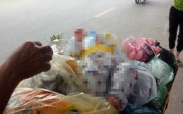 Phát hiện bé trai khoảng 4 tháng tuổi đặt trên thùng rác giữa phố Hà Nội