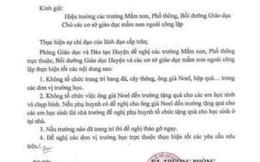 TP.HCM: Thu hồi văn bản cấm ông già Noel vào trường tặng quà cho học sinh
