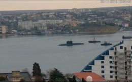 Tàu ngầm Nga đang trên đường tới eo biển Kerch?