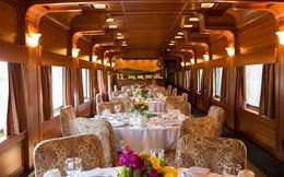 """Choáng ngợp trước nội thất quý phái bậc nhất bên trong chuyến tàu chở TT Bush """"cha"""""""