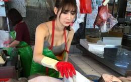 """Bí mật về cô gái được gọi là """"nữ thần bán cá"""" xinh như mộng đang gây sốt MXH Đài Loan"""