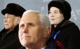 Phó Tổng thống Mỹ bực vì em gái ông Kim Jong-un tại Olympic