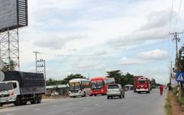 Quốc lộ 1A qua tỉnh Tiền Giang đã thông thoáng