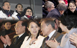 Cách sắp xếp ghế ngồi thú vị của HQ: Sự xích lại gần nhau của TT Moon và em gái ông Kim
