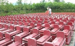 Cựu chiến binh dành tiền sửa nhà để xây gần 500 ngôi mộ cho người dưng trong làng