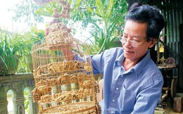 """Nghệ nhân xứ Huế kỳ công """"nâng tầm"""" thương hiệu tre Việt"""