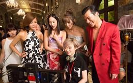 Clip Trần Bảo Sơn nghêu ngao tập hát ở hậu trường phim Girl 2