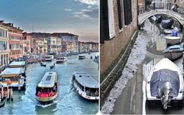 """""""Siêu trăng xanh máu"""" đã khiến thành phố Venice thơ mộng rơi vào thảm cảnh này"""