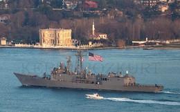 """Đô đốc Nga dọa đưa chiến hạm Mỹ ở Biển Đen """"vào thước ngắm"""""""