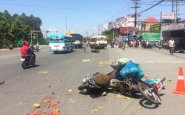Xác định nguyên nhân xe khách vượt đèn đỏ tông hàng loạt xe máy, 6 người bị thương
