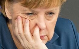 Hoàng hôn bà Merkel