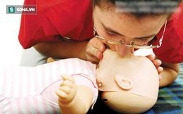 Bác sĩ khoa Nhi bày cách sơ cứu sặc sữa ở trẻ sơ sinh mẹ nào cũng cần biết