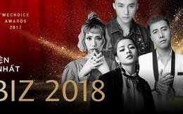 """Những lí do khiến bạn không thể bỏ lỡ Gala """"WeChoice Awards 2017"""" - sự kiện hot nhất đầu năm 2018"""