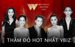 Gala WeChoice Awards: Thảm đỏ quy tụ nhiều nghệ sĩ hàng đầu được chờ đón nhất mỗi đầu năm!