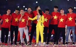Chỉ duy nhất Mỹ Tâm làm được điều tuyệt vời này khi xuất hiện cùng U23 Việt Nam