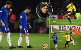 """Bị đuổi người, Chelsea nhận cái kết bẽ bàng trước đối thủ tưởng chừng """"không thể thua"""""""