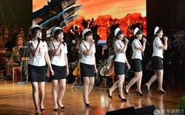 Ban nhạc nữ được ông Kim Jong-un sủng ái tất bật tổng duyệt khai mạc Olympic