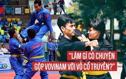 Ông Hoàng Vĩnh Giang lên tiếng về tranh cãi gay gắt trong làng võ Việt