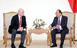 Chủ tịch FIFA: Việt Nam không chỉ vĩ đại trong lịch sử mà còn là quốc gia lớn lao trong bóng đá