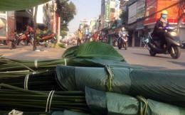 Chợ lá dong nửa thế kỷ ở Sài Gòn nhộn nhịp ngày giáp Tết