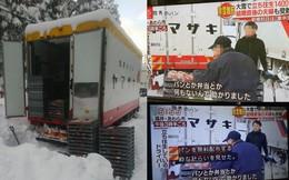 Xe kẹt trong tuyết hàng giờ liền, tài xế giao bánh mì quyết định làm một việc khiến ai cũng vô cùng xúc động