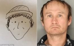 Lộ tên trộm gốc Việt ở Mỹ nhờ bức phác họa như đùa