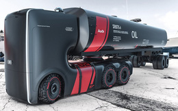Thiết kế tuyệt đẹp của hình mẫu xe tải tương lai Audi Truck