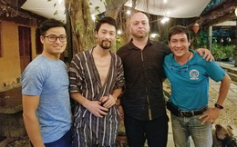 [Vietsub] clip Flores gặp Johnny Trí Nguyễn: Hóa ra Johnny đã... ngủ quên