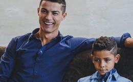 Không chỉ hưởng gen đá bóng từ bố, con trai Ronaldo còn cực sành thời trang