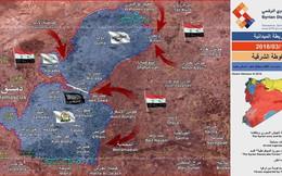 """""""Sư đoàn thép"""" Syria đột kích chiếm nhiều địa bàn trong tử địa Đông Ghouta"""
