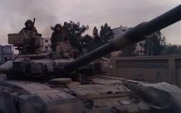 """QĐ Syria điều tăng chủ lực T-90 đánh thốc Đông Ghouta: Giờ """"khai tử"""" phiến quân đang điểm!"""