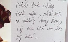 Tân sinh viên viết điều ước, cư dân mạng nhắn: Thức tỉnh đi mấy đứa!