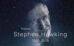 Sau sự ra đi của Stephen Hawking, đại học Cambridge chia sẻ đoạn video tưởng nhớ tới nhà vật lý vĩ đại của nhân loại