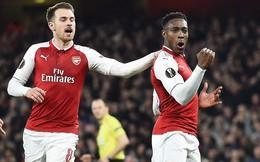 """Bất ngờ tỏa sáng, """"con cưng"""" của Sir Alex đưa Arsenal lọt vào tứ kết"""