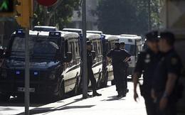 Cảnh sát Tây Ban Nha khám xét trụ sở chính quyền tự trị Catalonia