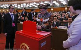 Bầu Tổng Thư ký Quốc hội và các Phó Chủ tịch Quốc hội Trung Quốc