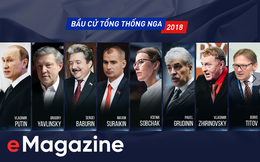 [Interactive] Chân dung 8 ứng cử viên Tổng thống Nga