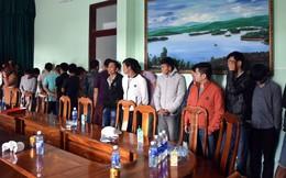 Quảng Nam: Mật phục bắt 22 con bạc sát phạt tại đồi keo