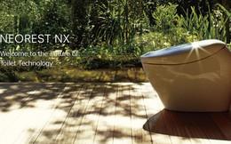Toto Nhật Bản ra mắt bồn tự động xịt rửa và xì khô bàn tọa, chiếu tia UV diệt khuẩn, giá bán 250 triệu đồng