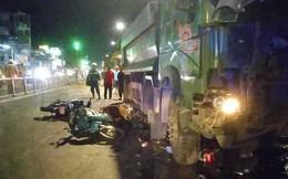 Vụ xe ben tông hàng loạt xe máy ở Sài Gòn: Một nạn nhân đã tử vong