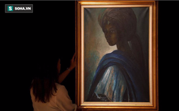 """Mệnh danh là """"Mona Lisa châu Phi"""", bức họa kỳ lạ được rao bán hơn 1.6 triệu USD"""
