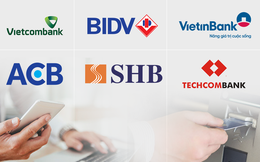 So sánh mức phí chuyển tiền internet banking, rút tiền ATM giữa các ngân hàng: Vietcombank, BIDV, Vietinbank tận thu nhất, Techcombank, VPBank 'chiều' khách hàng nhất