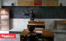 Câu chuyện thấm đẫm tình người phía sau lớp học đặc biệt chỉ một thầy một trò