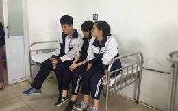 Học sinh sợ hãi kể lại giây phút trần trong lớp học bất ngờ rơi trúng đầu