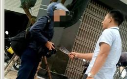 Cầm dao phay dọa giết phóng viên đang tác nghiệp