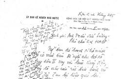 Nhờ bức thư tay của ông Sáu Khải…