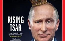 Ông Putin xuất hiện trên bìa tạp chí Time